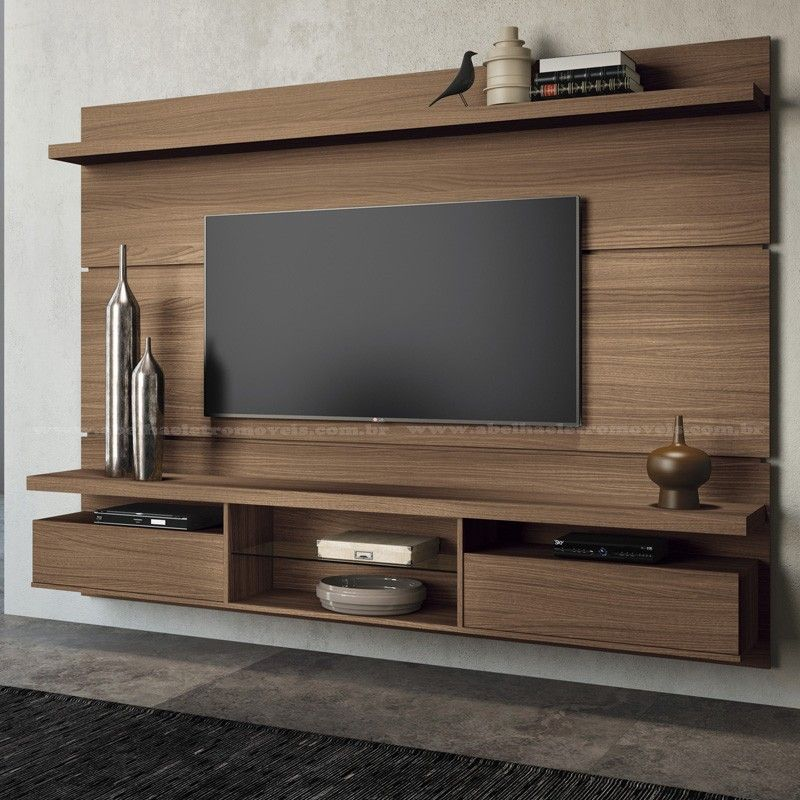 Rack suspenso com painel pesquisa google sof for In wall tv cabinet