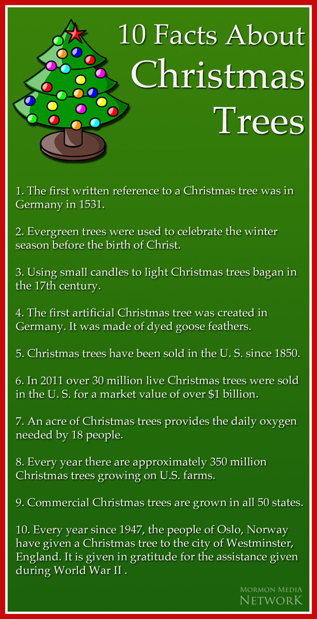 Facts About Christmas.Mormon Media Network Christmas Facts About Christmas Trees