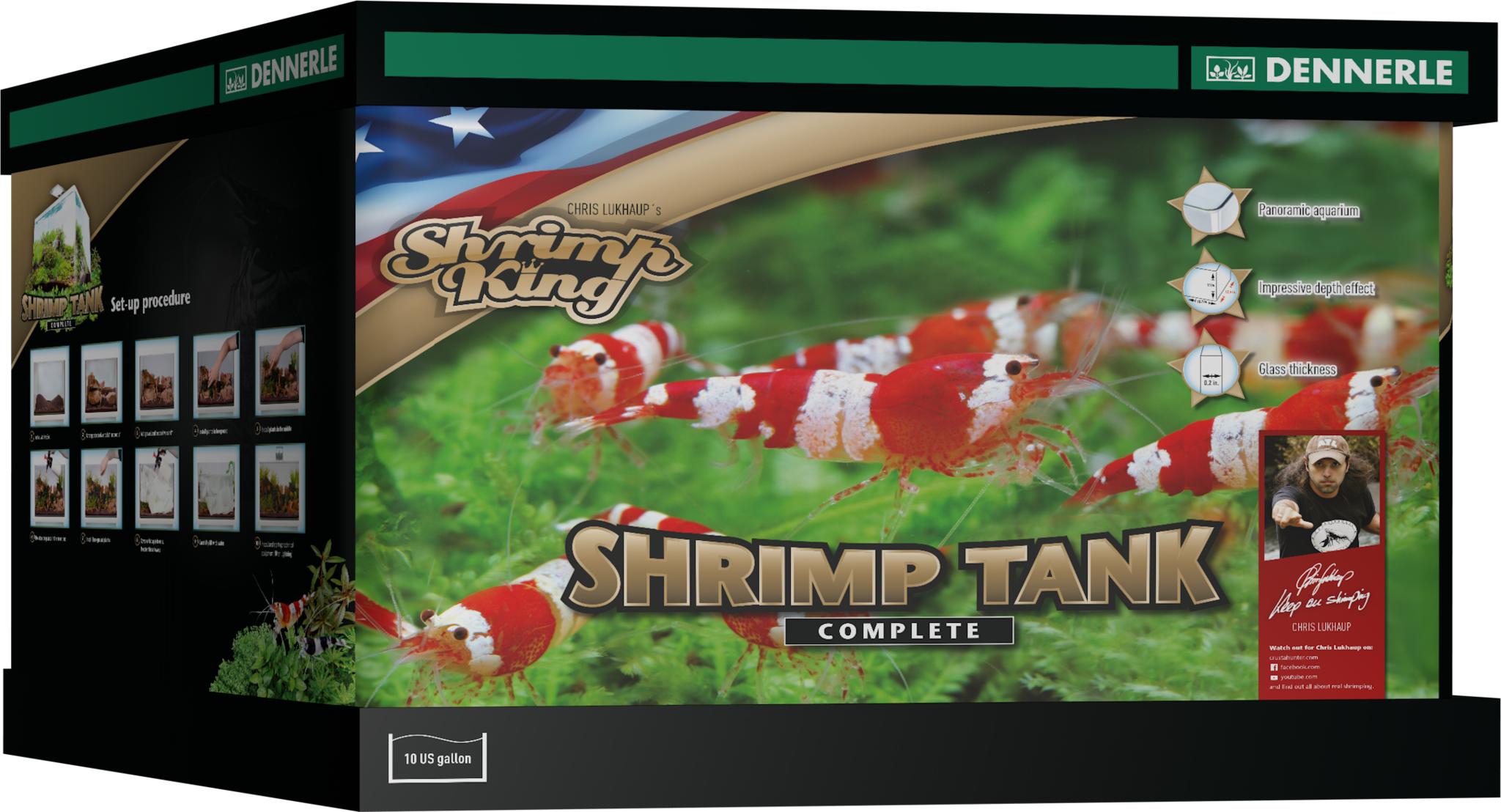 Shrimp King Tank Shrimp tank, King food, Koi fish food
