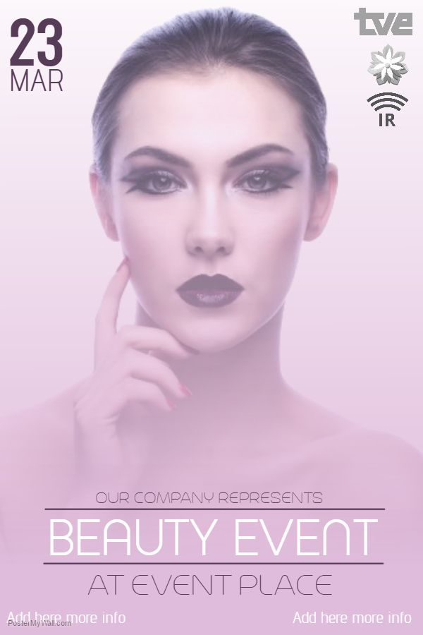 Beauty Salon Flyer Template  Beauty Salon And Fashion Posters