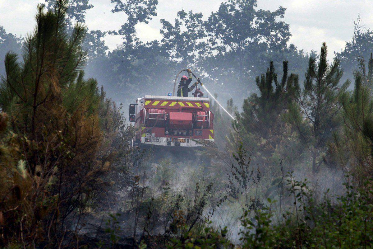 Incendie à Saint-Jean d'Illac (33) : les premières images des dégâts