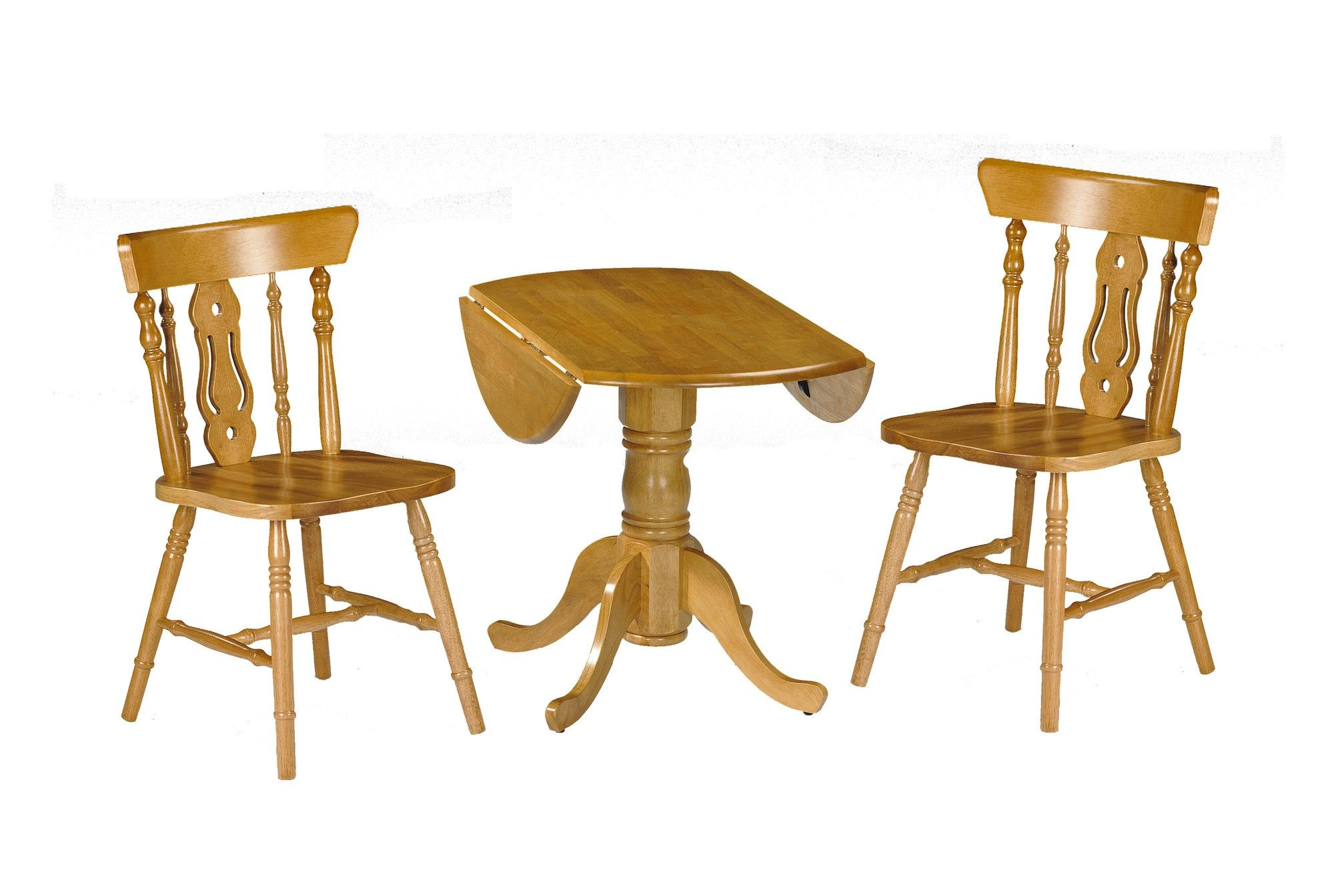Julian Bowen Dundee Honey Pine Finish Dining Table With Yorkshire Chair