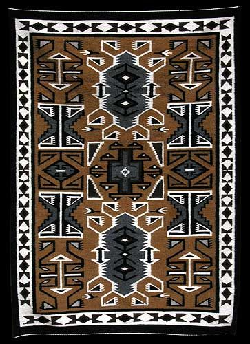 navajo rug designs two grey hills. Navajo Brown Two Grey Hills Rug - Julia Pete (#1) Product Archives Designs .