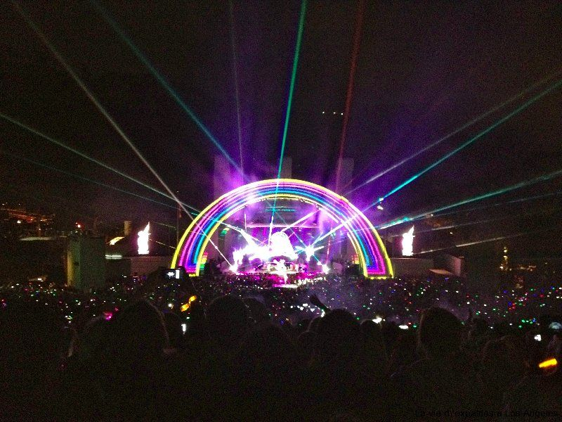 Coldplay At The Hollywood Bowl Coldplay Concert Coldplay The Hollywood Bowl