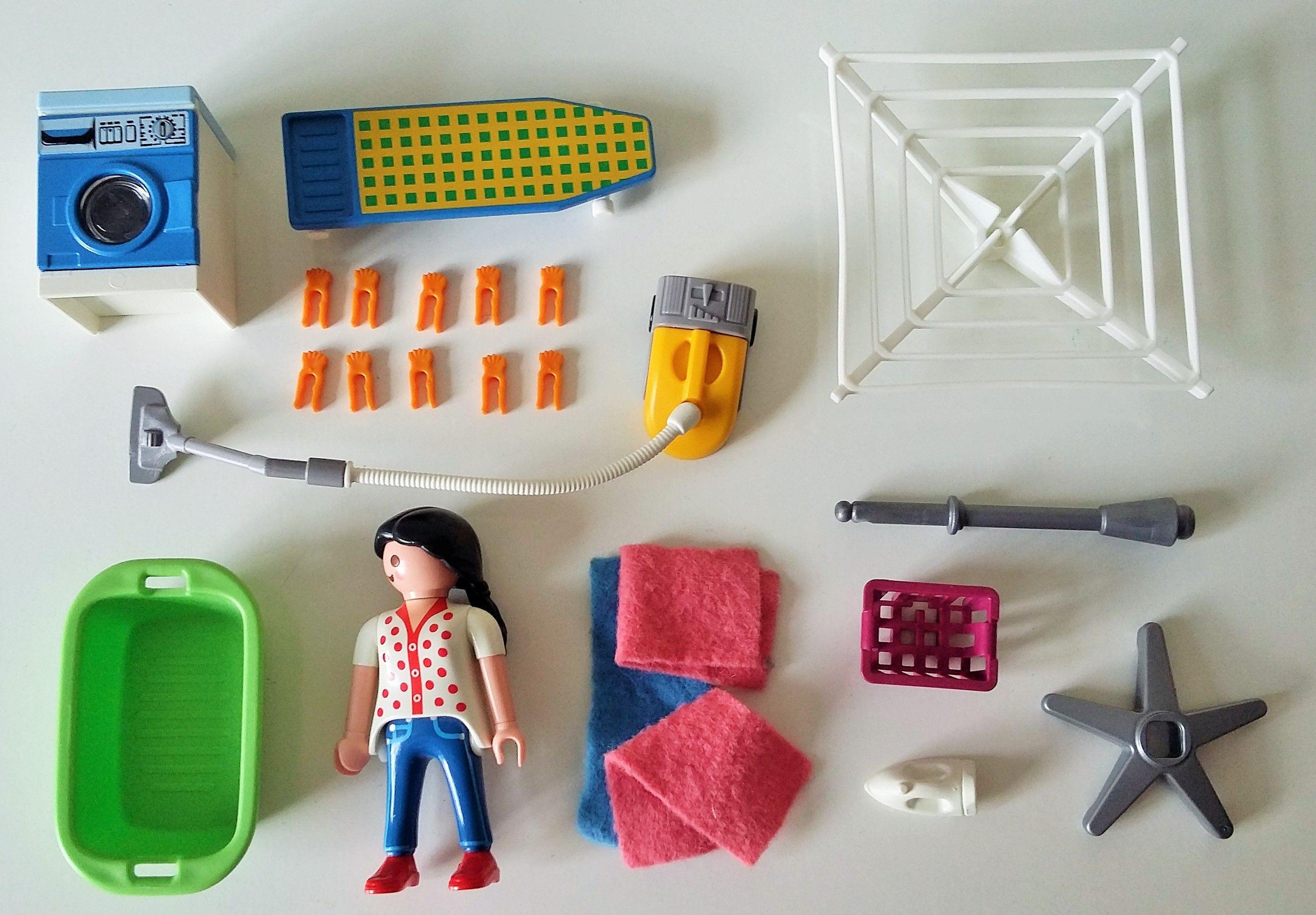 Playmobil Dollhouse Slaapkamer : Playmobil city laundry set housekeeping room playmobil