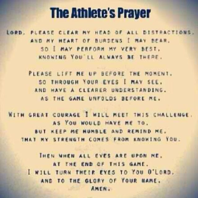Every Team Should Say This Before A Game 3 The Athletes Prayer Athletes Prayer Volleyball Quotes Volleyball