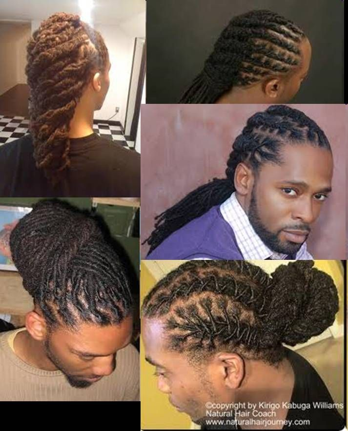 Black Men Wedding Hairstyles: Natural Hair Styles, Dreadlock Styles, Hair