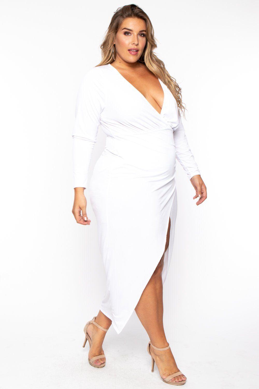 Plus Size Athena Deep V Maxi Dress White White Maxi Dresses White Dress Dresses [ 1500 x 1000 Pixel ]