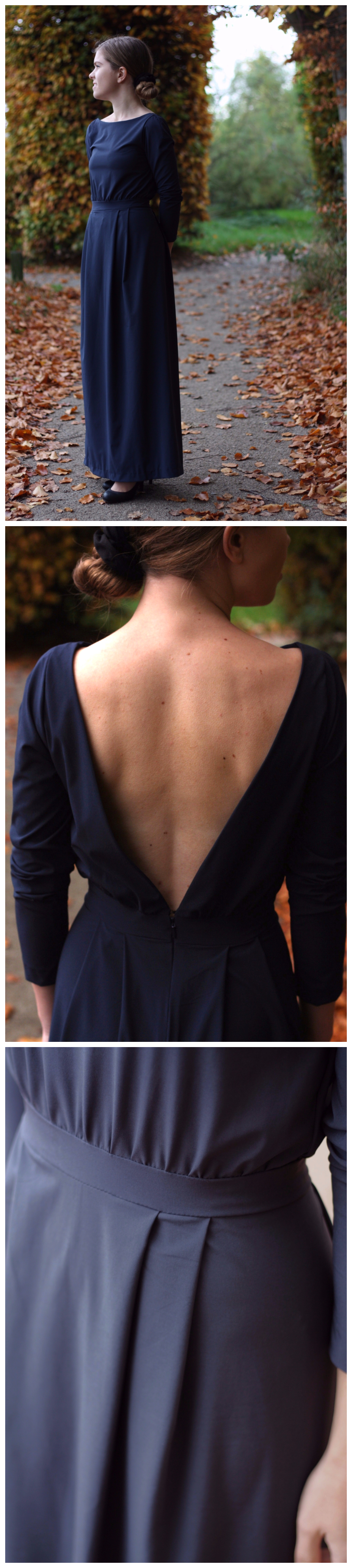 Floor length dress open back mogina mogina dresses pinterest