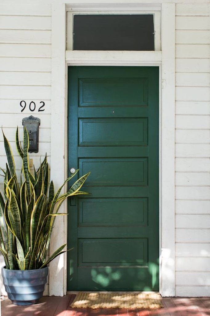 BECKI OWENS- Spring Curb Appeal: Painted Front Doors + Paint Guide ...