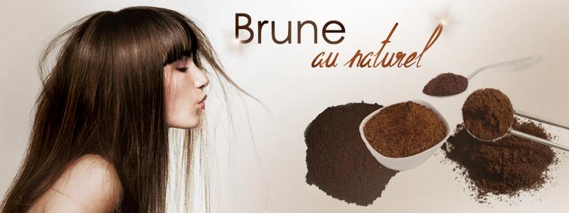 Coloration naturelle pour cheveux fonces