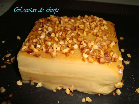 Recetas de Chispi: TARTA DE TOFFE Y GALLETAS