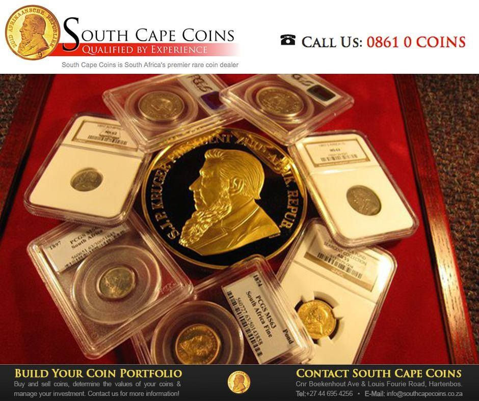 SouthCapeCoins are premier dealers in rare South African coins, with