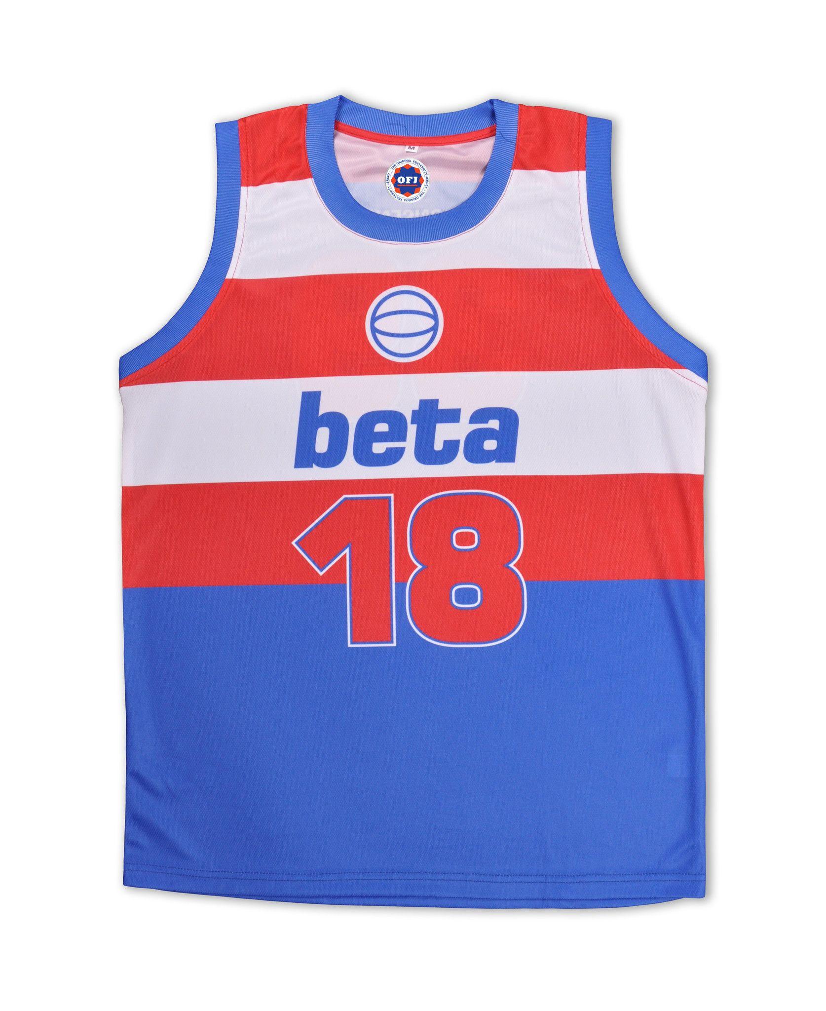 Blue apron beta - Beta Theta Pi Fraternity Jersey Size Medium Fraternityaproncollege