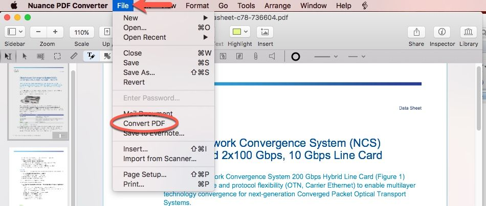 Nuance PDF Converter 4 0 0 for Mac 破解版 – PDF电子文档制作
