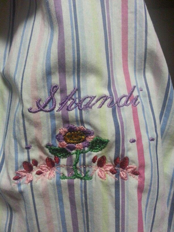 Shandi's new apron I made