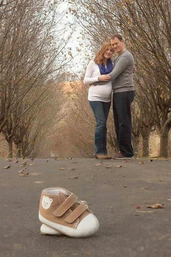 Maternity pictures outside