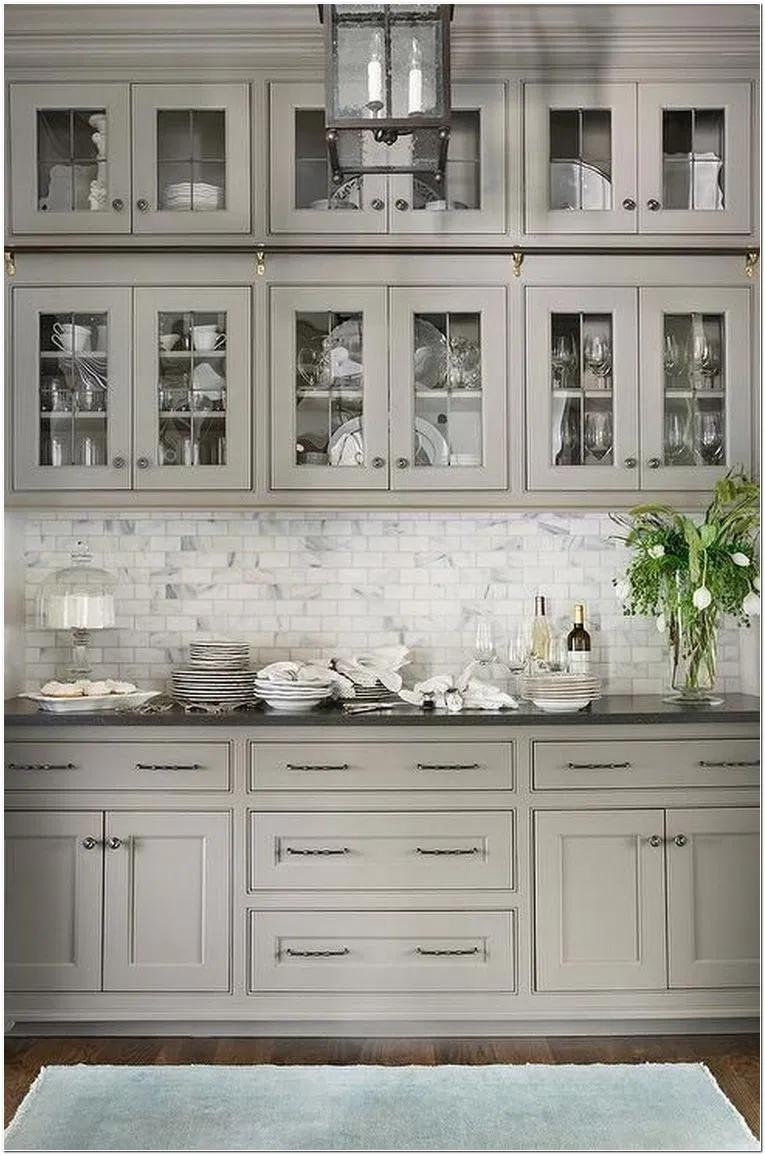 68 Farmhouse Kitchen Cabinet Makeover A Simple Idea For A New Look 7 Myhomeorganic Farmhousekitchen Kitc En 2020 Cuisine Moderne Armoire De Cuisine Cuisines Maison
