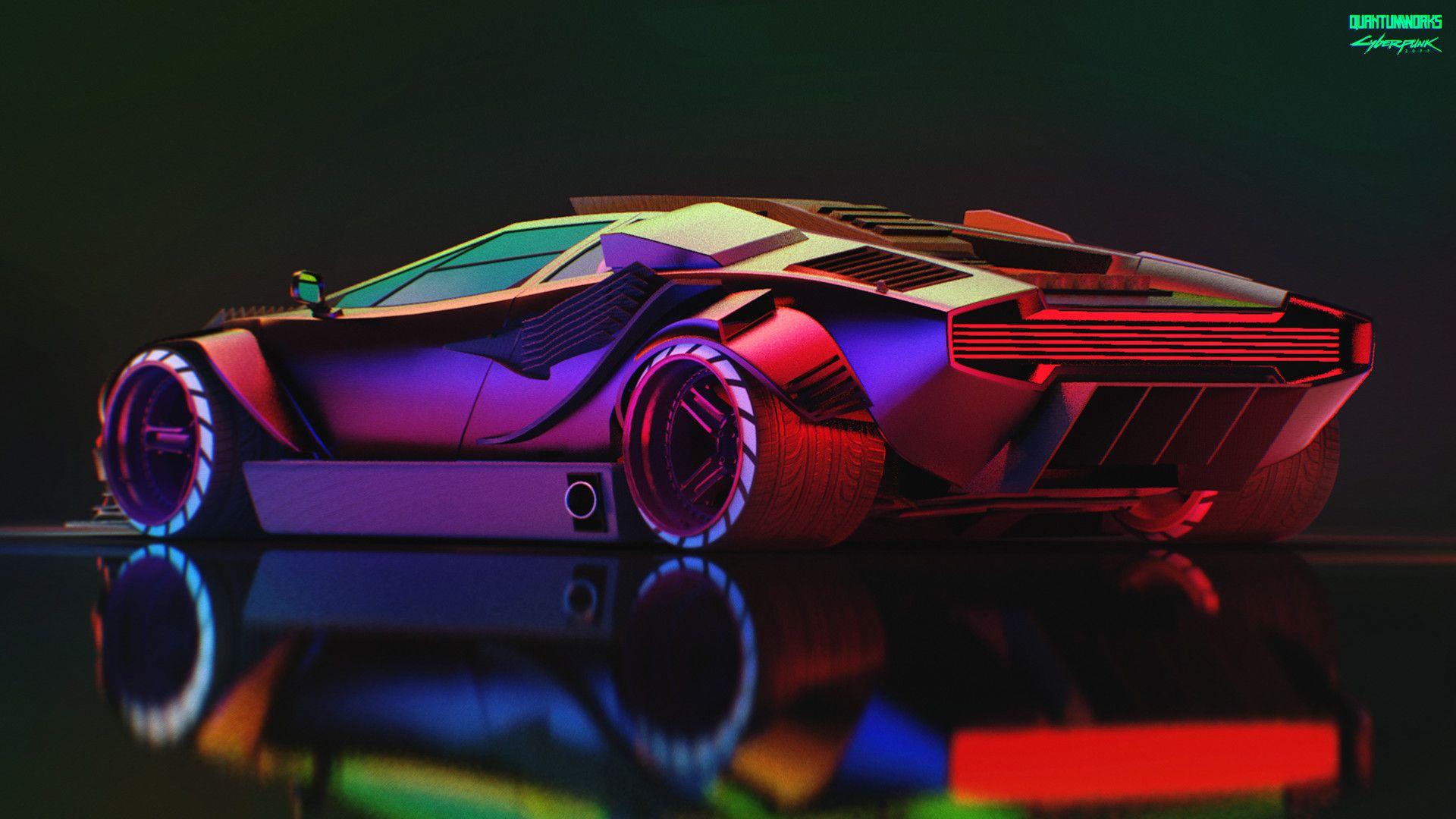 Cyberpunk 2077 Cyberpunk 2077 Cyberpunk Supercars Wallpaper