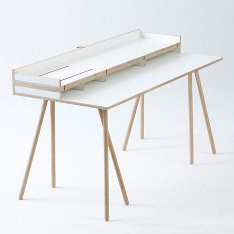 Doppeldecker Table by Bernotat