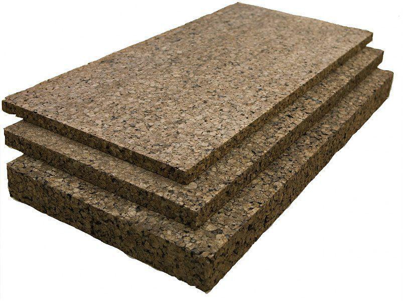 Toxic Free Energy Saving Insulation Options Cork Sheet Green Insulation Rigid Insulation