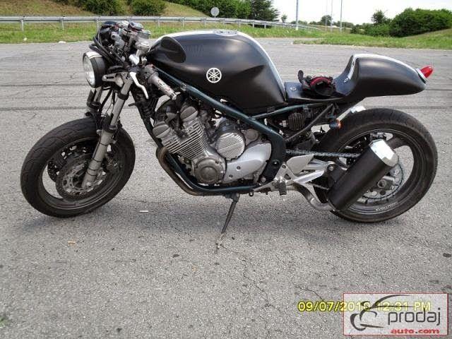 Gut gemocht Yamaha XJ 600 Cafe Racer | xj600 | Pinterest | Cafes, Harley bikes  WB68