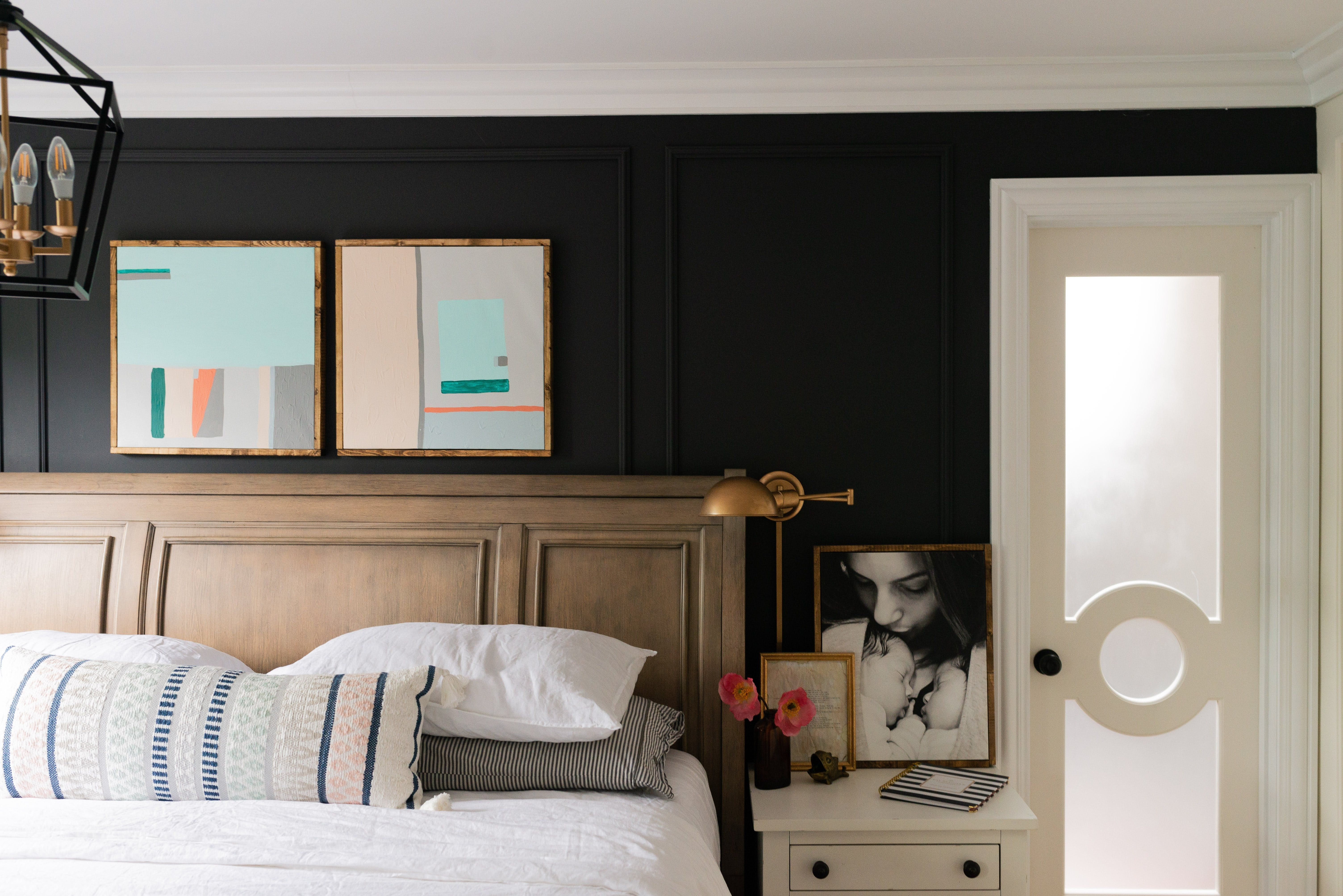 Top 30 Ideal Accent Wall Concepts For Your Residence Wrought Iron Accents Home Interior Architecture Design