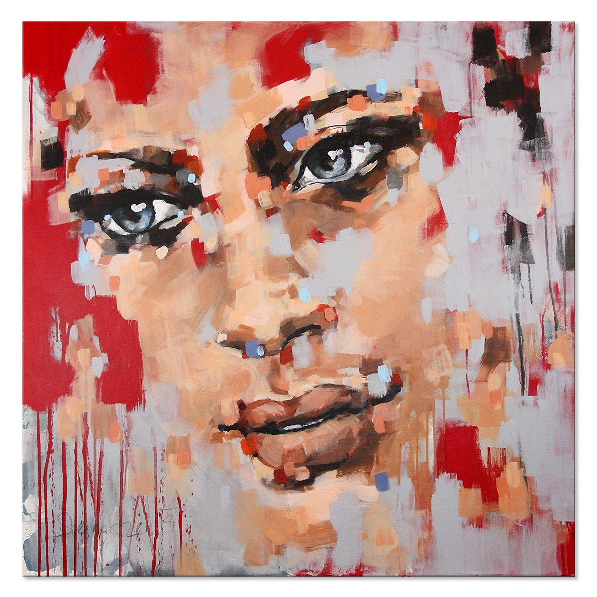 100 Porträtmalerei Abstrakt Ideen Porträtmalerei Malerei Abstrakt