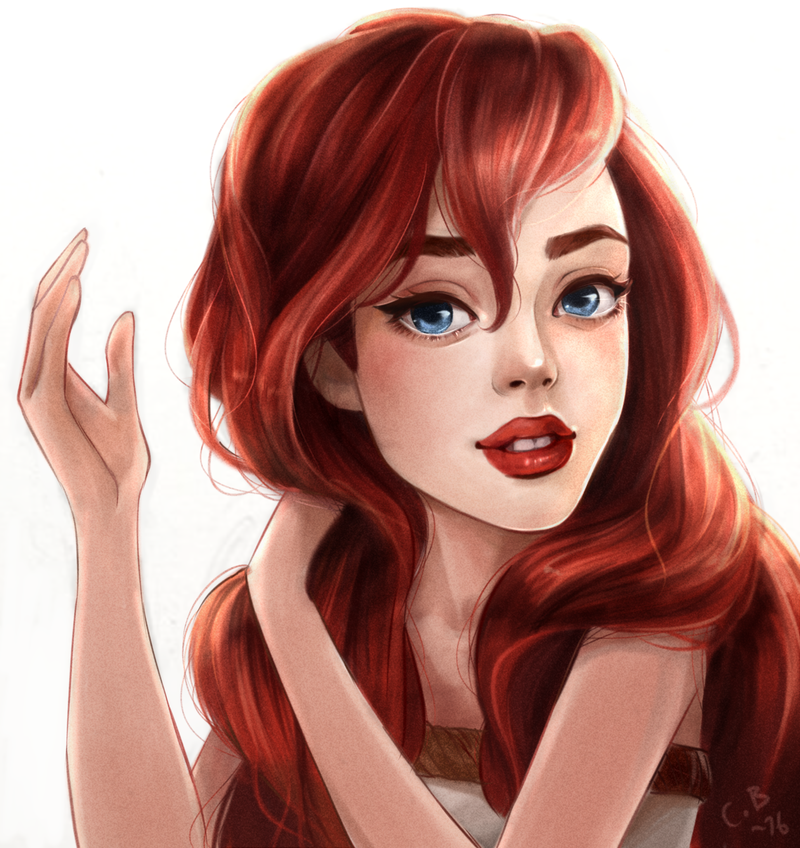 Ariel by Pastel-le on DeviantArt