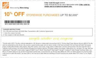 Free Printable Coupons Home Depot
