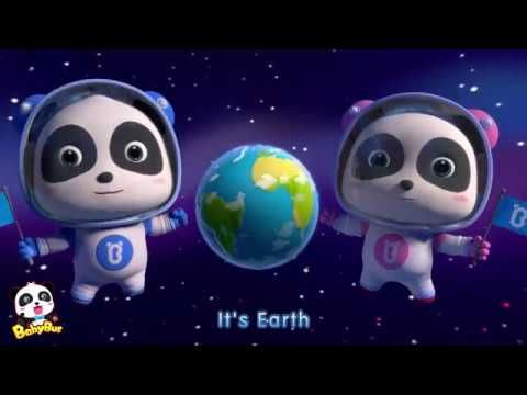 Baby Panda Space Guardians | Astronaut & Space | Kids Songs collection | BabyBus - YouTube #babypandas