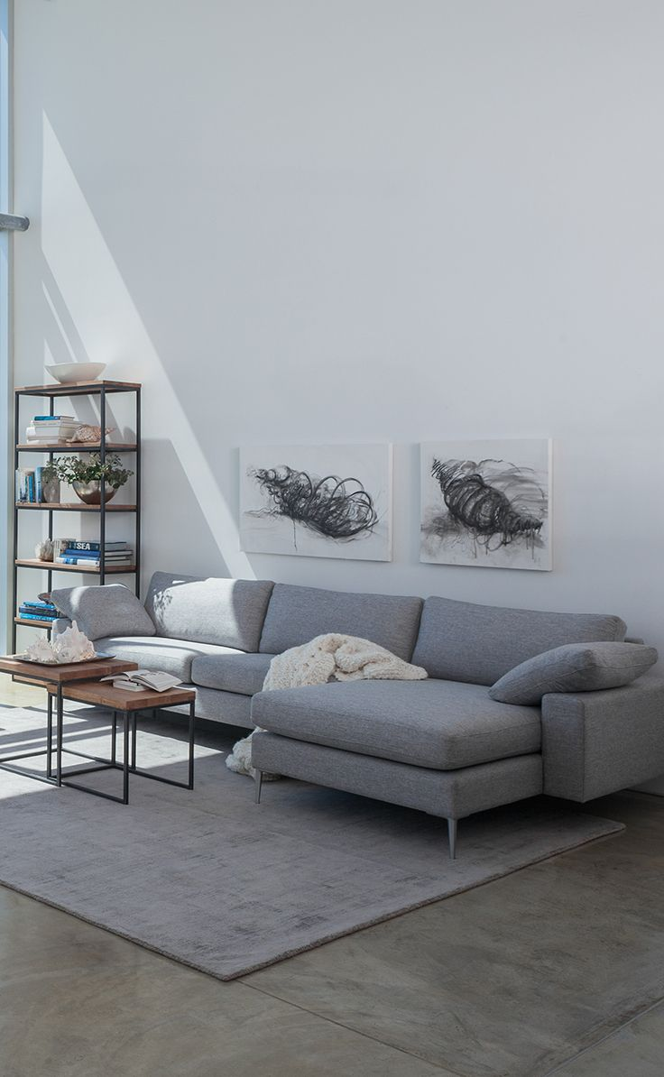 Modern And Contemporary Gray Sectionals Go With All Kinds Of Decor