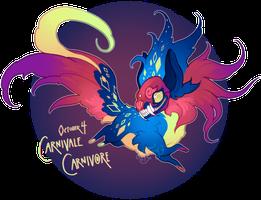 Mogiween Day 4: Carnivale Carnivore by al-kem-y
