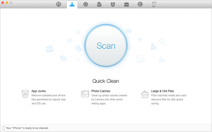 How To Clear App Cache On Iphone With Phoneclean Step 1 Editing Apps App Cache Clean Iphone