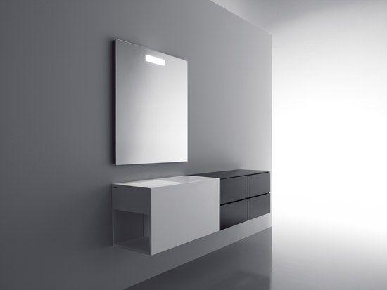Upgrade-series minimal bathroom furniture by Spannish brand Cosmic ...