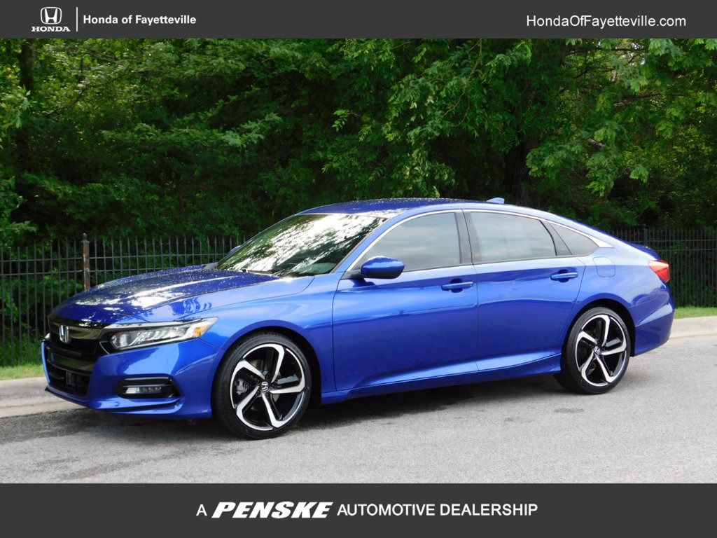 2018 Used Honda Accord Sedan Sport 1 5T CVT Sedan for Sale