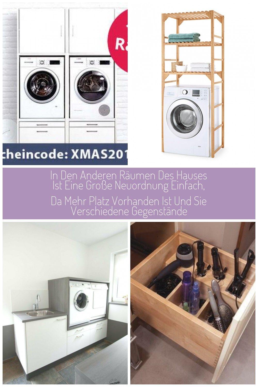 Waschmaschinenschrank Erhoht Mit Platz Fur Trockner Waschturm