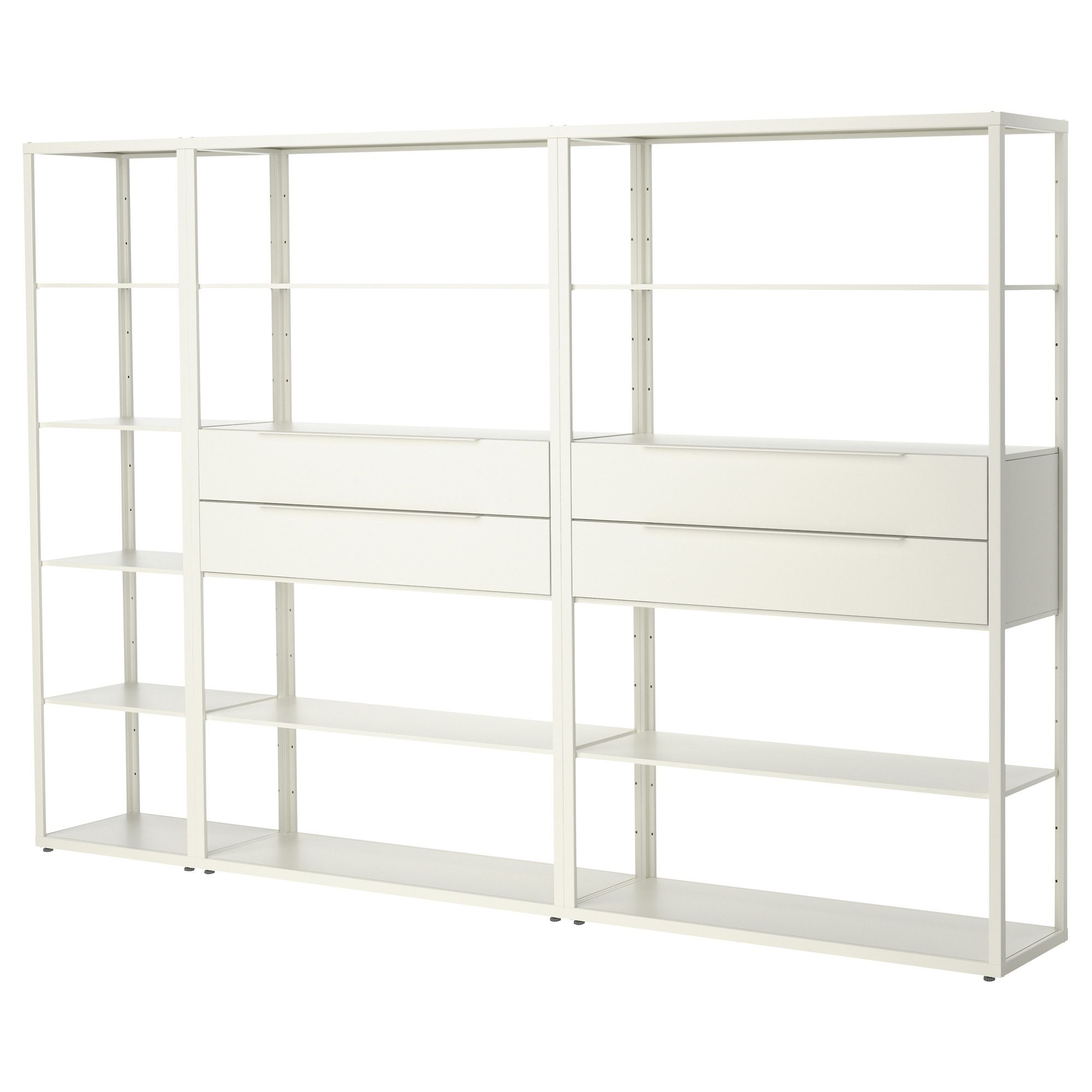 "FJ""LKINGE Shelving unit with drawers IKEA"