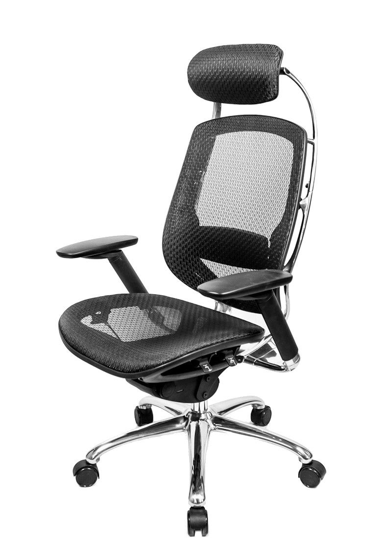 At The Office 1 Series High Back Mesh Office Chair With Pivot