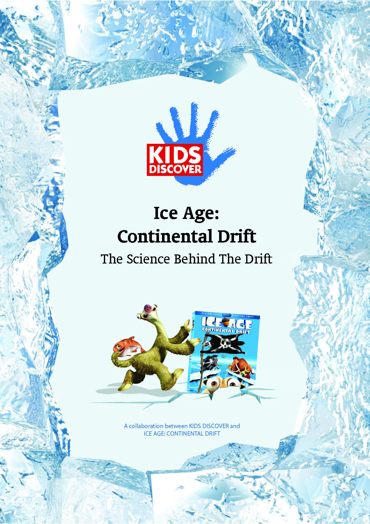 Kids Discover And Ice Age Continental Drift Theory