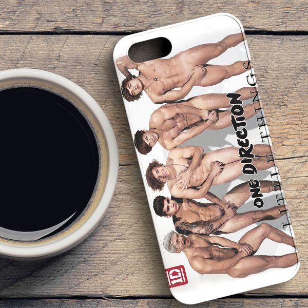 1D Naked Little Things One Direction iPhone SE Case