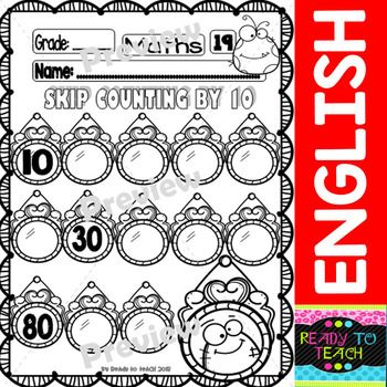 Halloween Maths Funny Worksheets - 20 B&W Printables - Set 1 | TpT ...