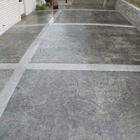 Front Porch Stained Concrete A Definate Must For My Front Porch Decoration For House Concrete Patio House Exterior Patio