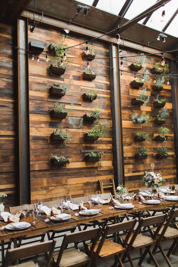 Garden Inspired Wedding at Brooklyn Winery Luxury