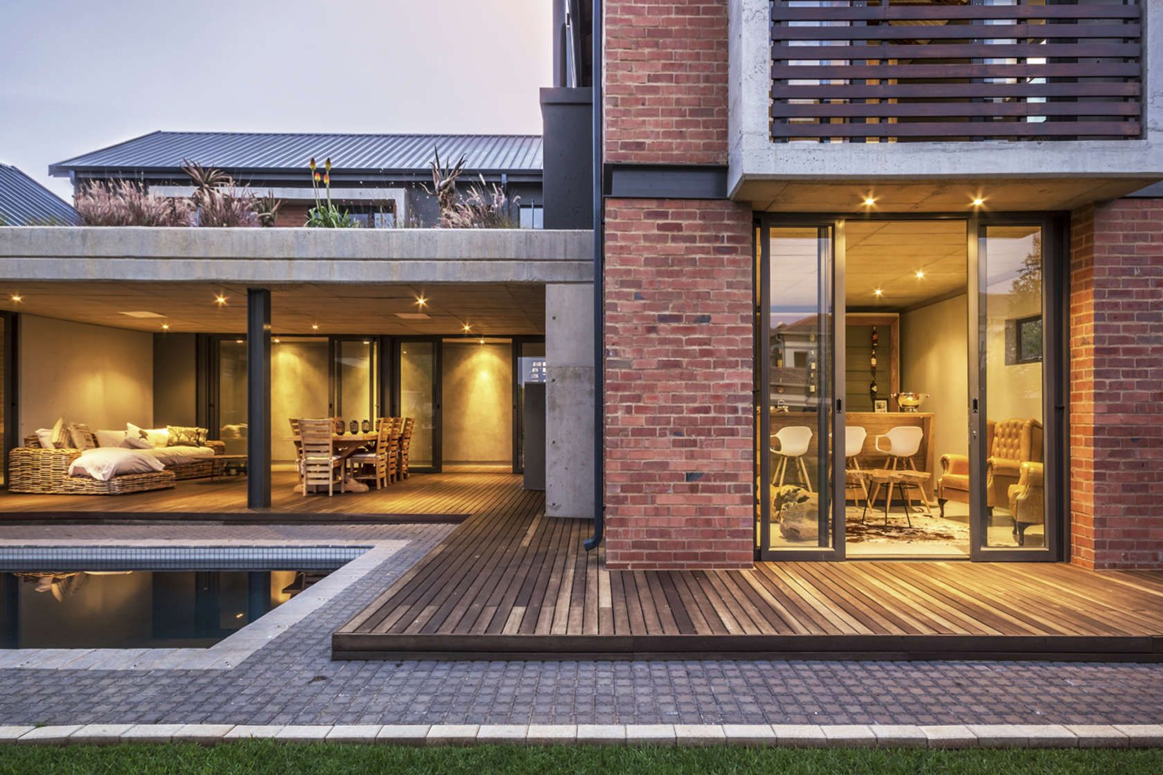 A contemporary farm style private residence for albie