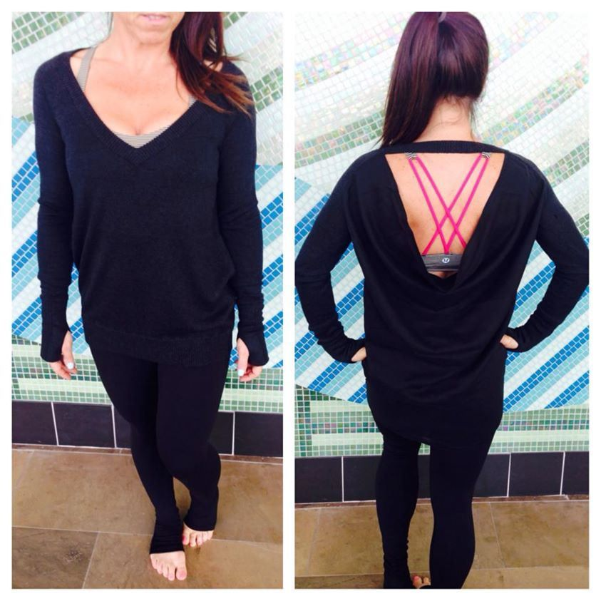 unity pullover black size 6