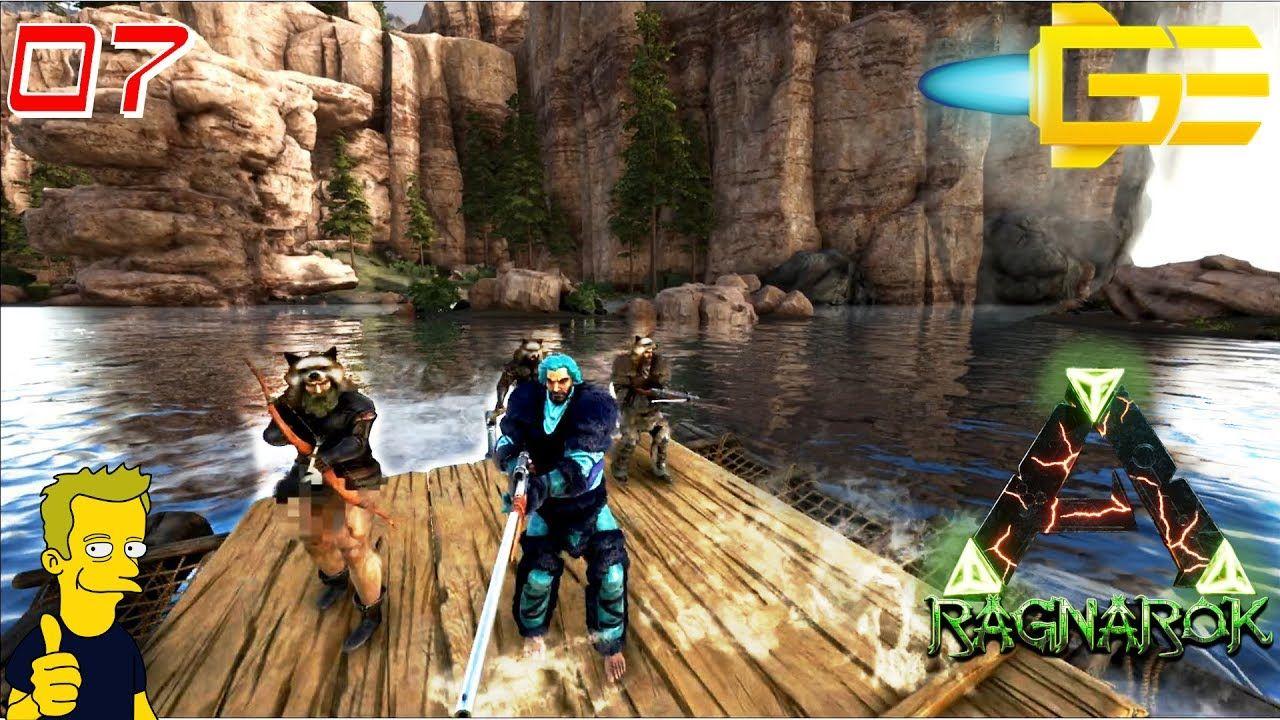Ark Survival Evolved Ragnarok Raft Adventure Jimbobsoss Evolution