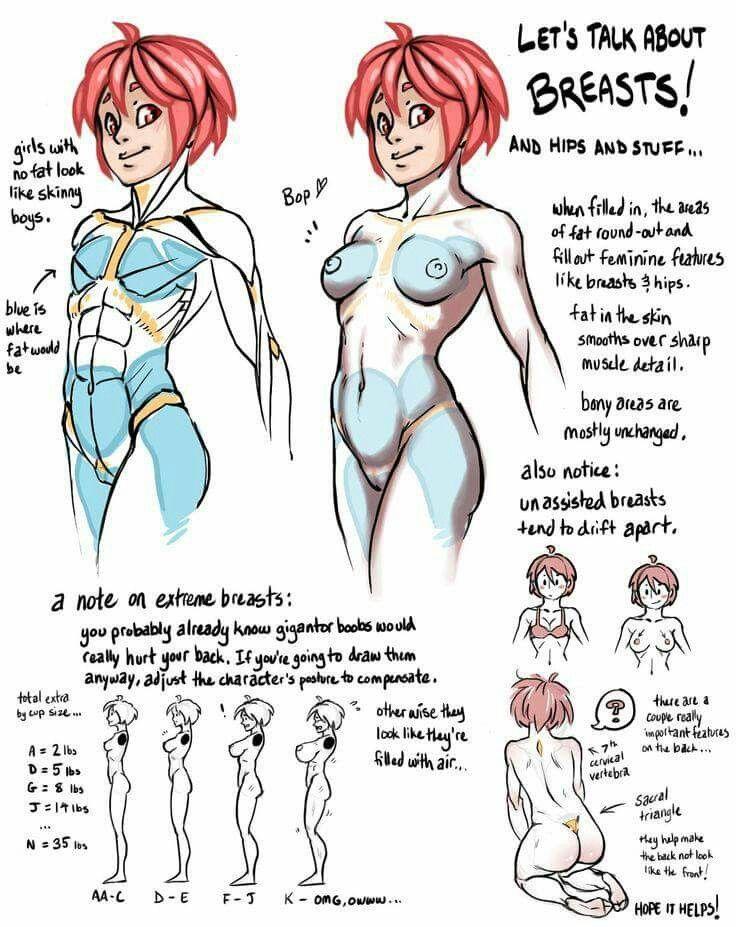 Pin de Ghostofthewoodwall en drawing tutoials   Pinterest   Anatomía ...