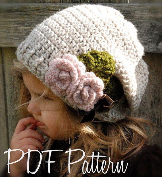 Crochet PATTERN-The Nala Slouchy (Toddler, Child, Adult sizes ...