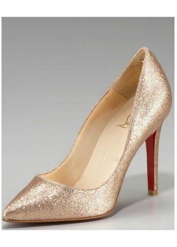 d6186c85e61 Red Bottom Shoes Pigalle Glitter Pump!